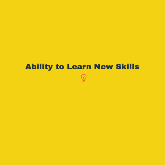 how to priortize skills that i want to learn