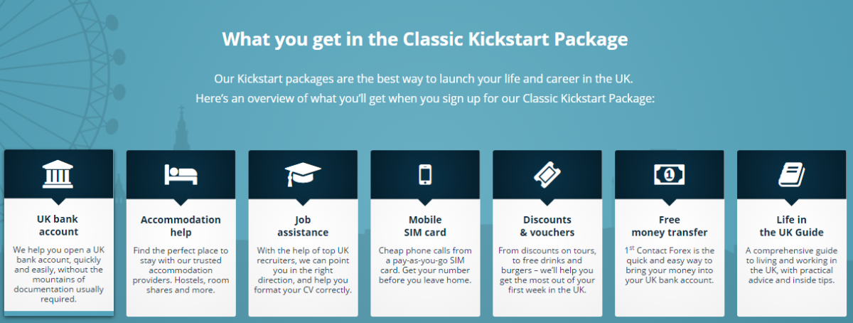Kickstart Package - 1st Contact