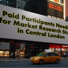Paid Participants Needed for Market Research Study in Central London