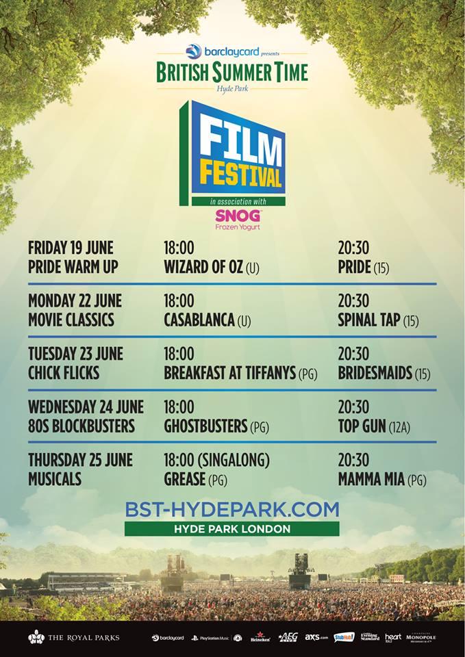 Free Film Screenings in London June 2015