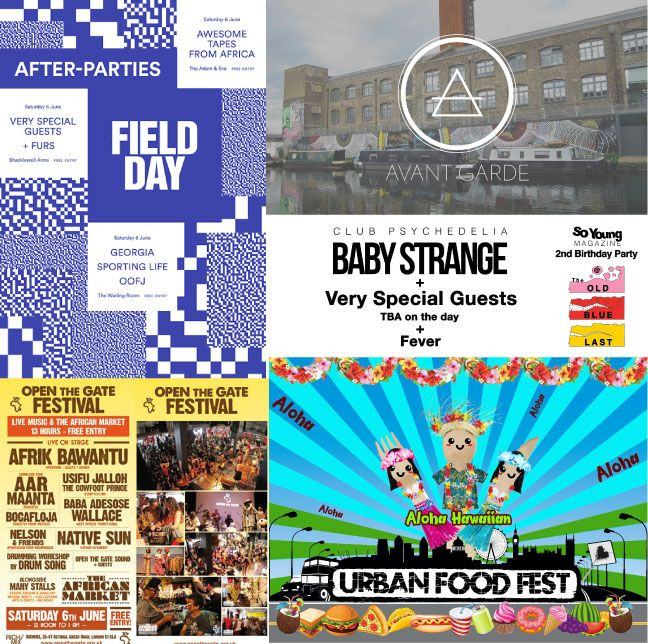 Top 5 Free Events in London this Weekend 5-7 June 2015