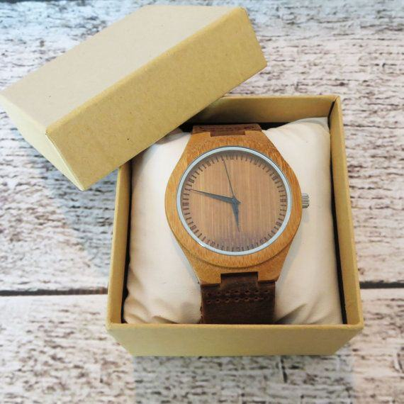 Personalised Wooden watch