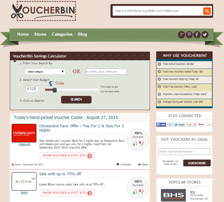Voucherbin Review