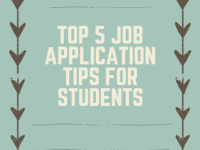 Top 5 Job Application Tips for Students