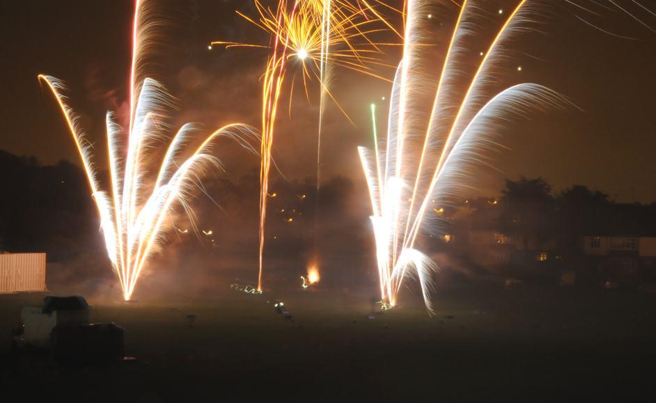 Fireworks Night in London 2015