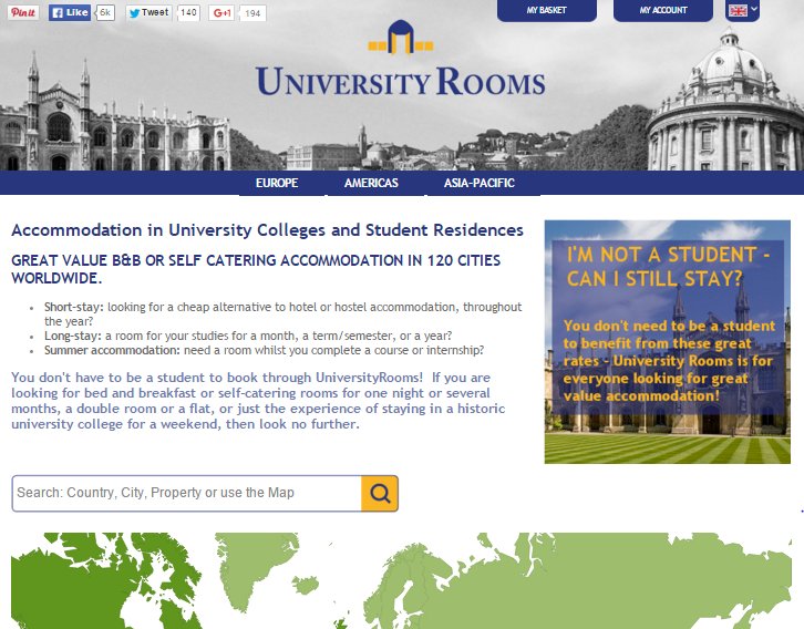 Universityrooms.com