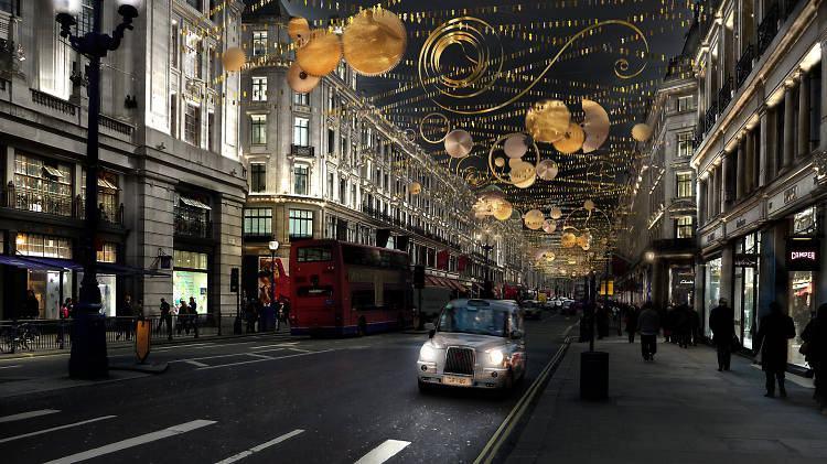 Regent Street Christmas Lights Switch-On 2015