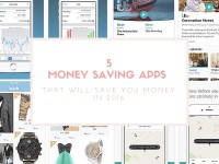 5 Money Saving Apps that Will Save You Money in 2016