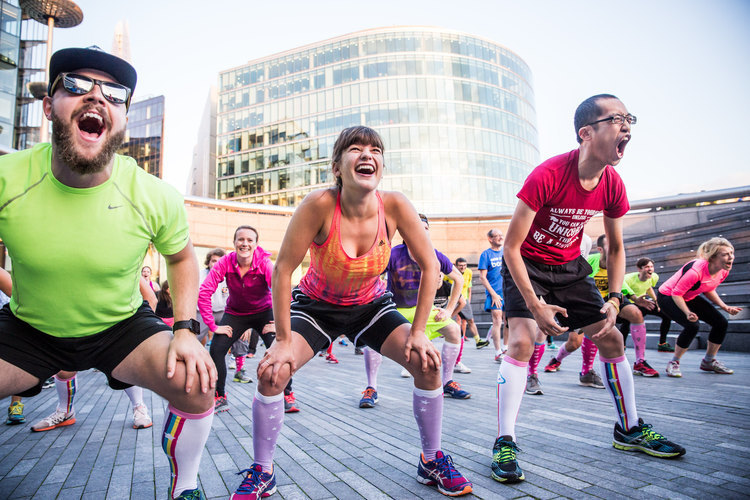 Project Awesome - Free Fitness Movement in London - Broke