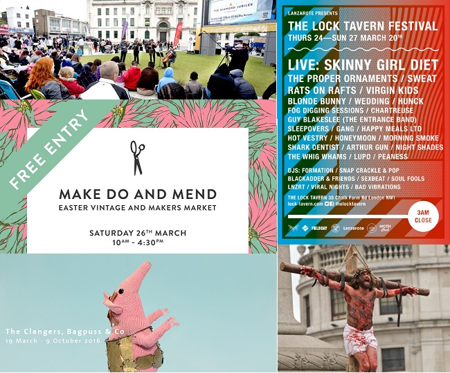 Top 5 Free Things to do in London this Easter Weekend 25-28 March 2016