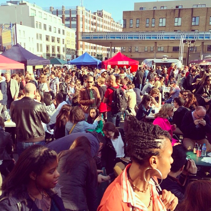 Urban Food Fest Street Food Market is Back! in Shoreditch