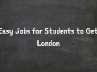 7 Easy Jobs for Students to Get in London