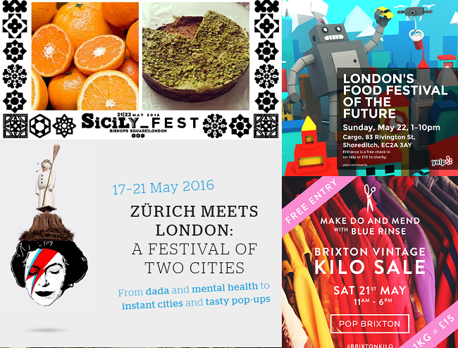 Top 5 Free Events in London this Weekend 20-22 May 2016