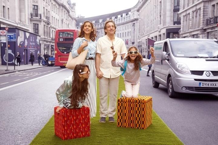 Free Transported by Design Festival on Regent Street