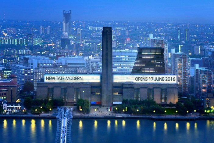 New opening at the Tate Modern