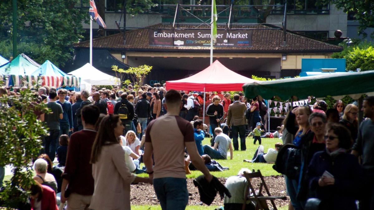 Embankment Summer Market 2015