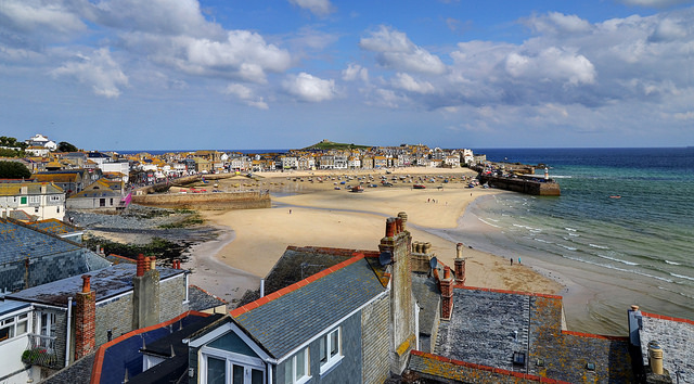 St. Ives, Cornwall seafront