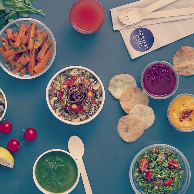 Top Ten Budget Vegetarians in London