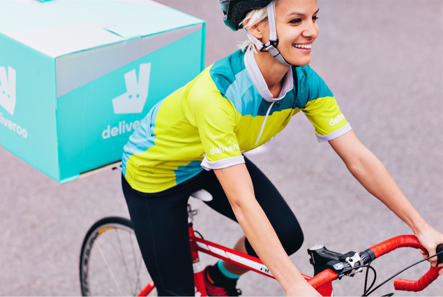 Become a Deliveroo driver in London