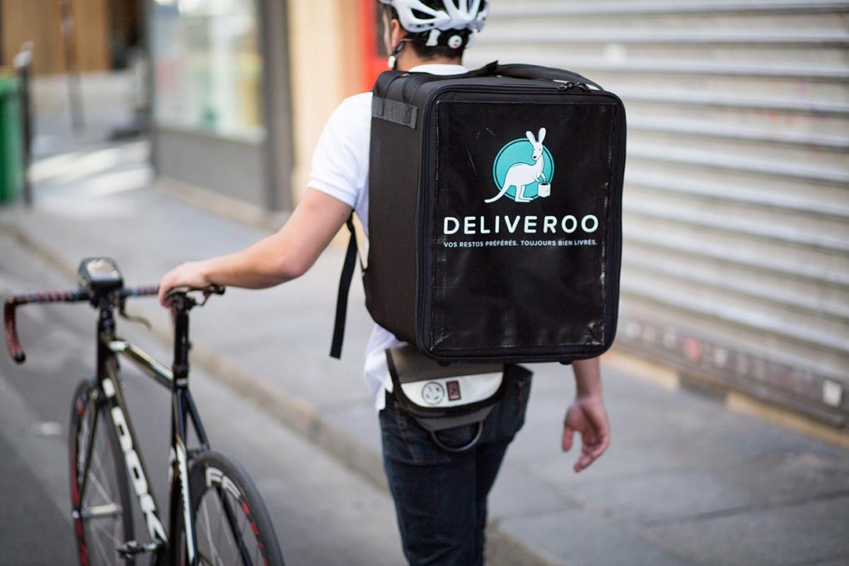 Rider for Deliveroo ©deliveroo.co.uk