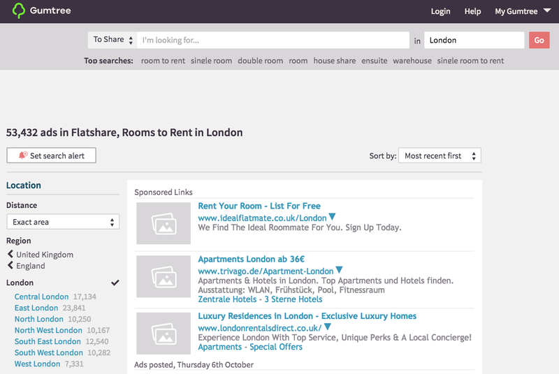 How to find cheap accommodation in London
