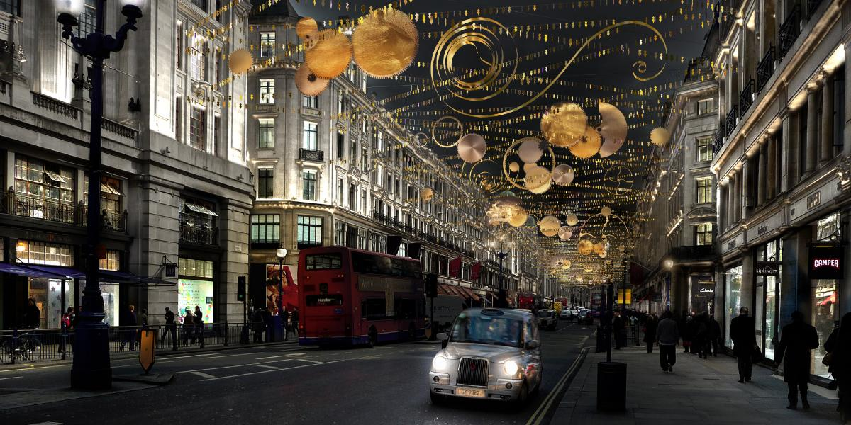 Top 5 Christmas Lights London
