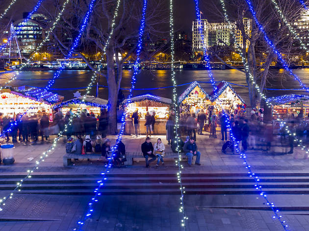 Top 5 christmas lights in london