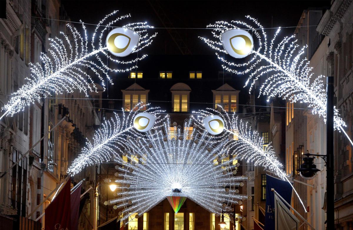 Top 5 Christmas lights lonodn