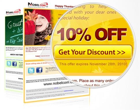 NobelCom Discounts ©NobelCom.com