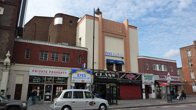 The Savoy Cinema in Dalston