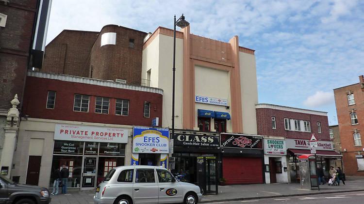 The Savoy Cinema in Dalston