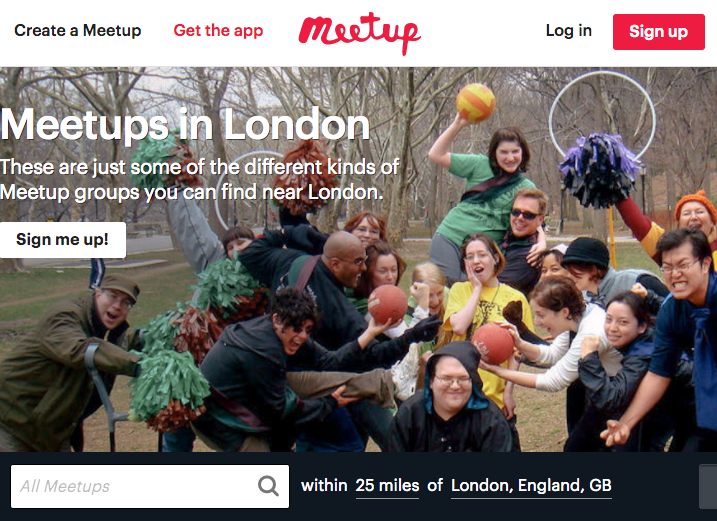 Meetup in London