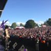 Kenyatta Hill and crowd at Lambeth Country Show