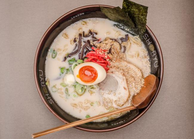 Japanese Ramen - Shoryu Ganso Tonkotsu