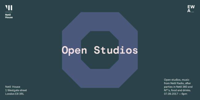 Netil House Open Studios 2017