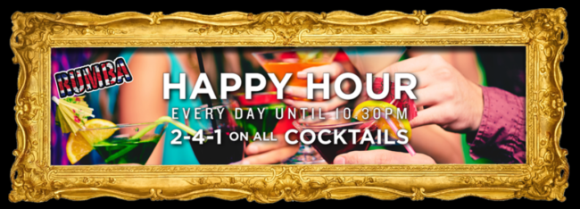 Happy Hour Bars in London - Rumba