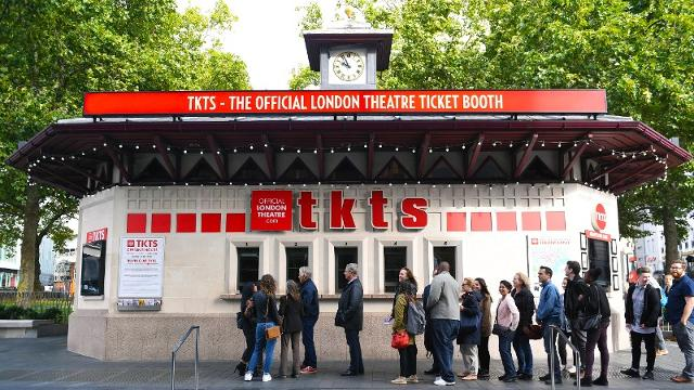 TKTS ticket booth Leicester Square