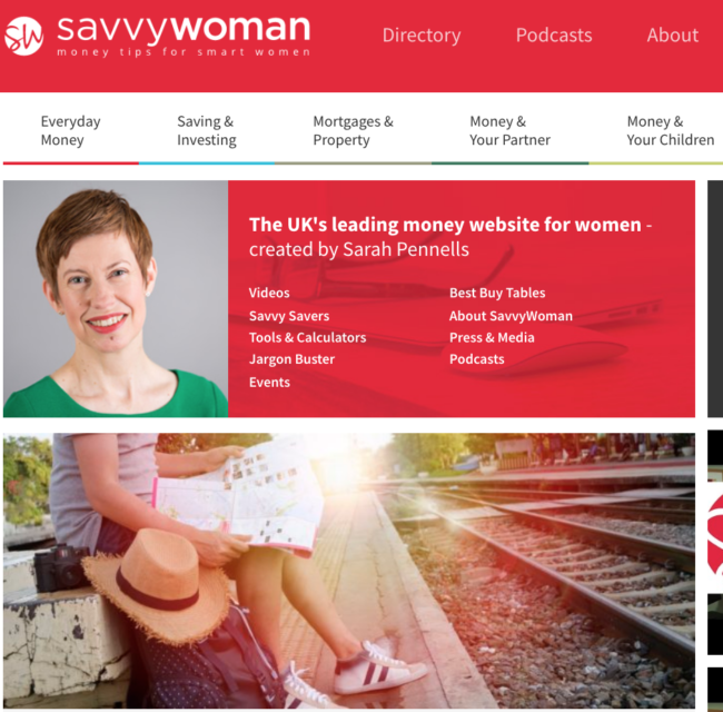 savvywoman.co.uk - British Money and Financial Blogs You Should Be Reading