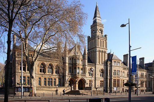 Ealing Town Hall in Ealing Broadway