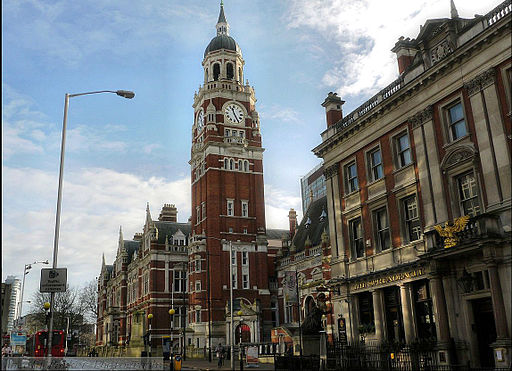 Old Town Hall,Katherine Street Croydon