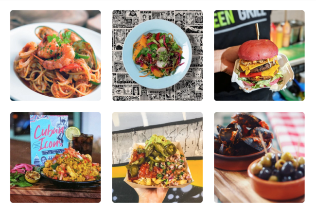 50% off food, 2 for 1 meals and more across UK restaurants