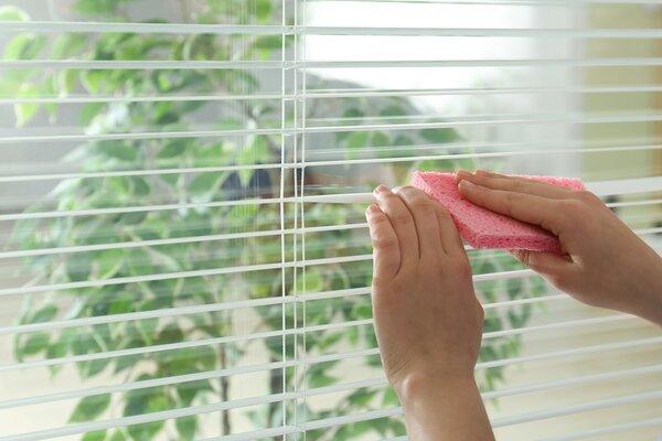 Aluminium venetian blinds